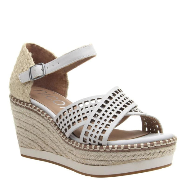 Jozana in Dove Grey Wedge Sandals | Women's Shoes by NICOLE | WOMEN FOOTWEAR