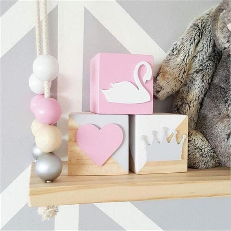 Nordic Pastel Blocks Set | baby nursery decor