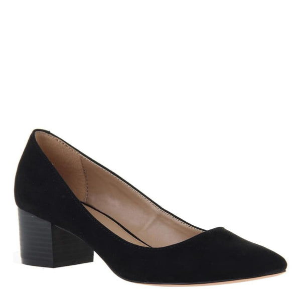 Novel in Black Closed Toe Pumps | Women's Shoes by MADELINE | WOMEN FOOTWEAR