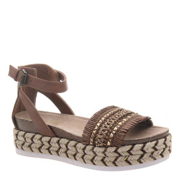 Sphinx in Tuscany Wedge Sandals | Women's Shoes by MADELINE GIRL | WOMEN FOOTWEAR
