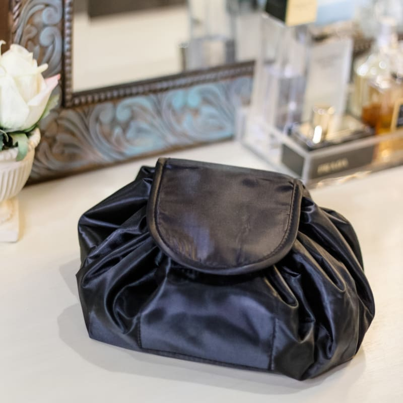 Style Boutique Washable Drawstring Cosmetic Vanity Travel Bag | makeup travel bag
