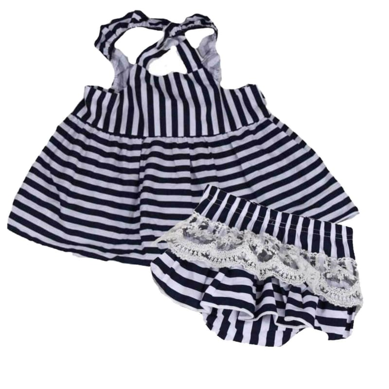 Tiffany Backless Sundress Set | Baby Girl Infant Set
