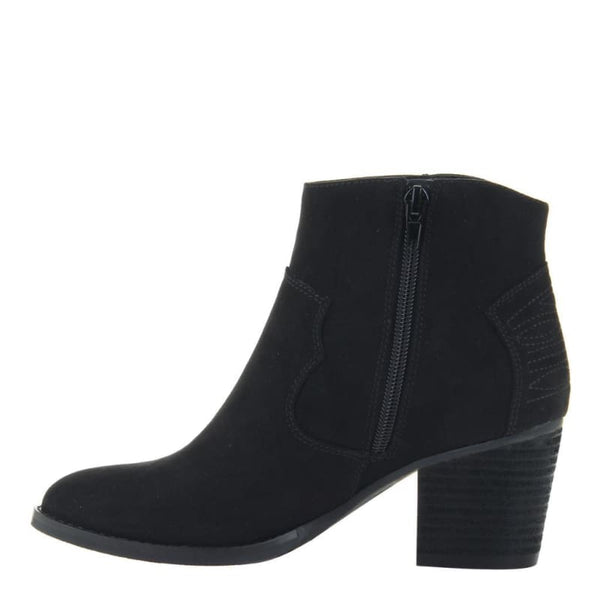 Wild West in Black Ankle Boots | Women's Shoes by MADELINE | WOMEN FOOTWEAR