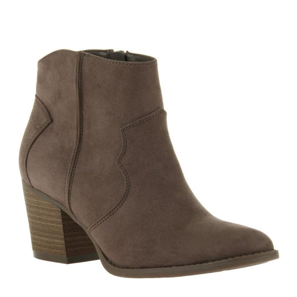 Wild West in Dark Earth Ankle Boots | Women's Shoes by MADELINE | WOMEN FOOTWEAR