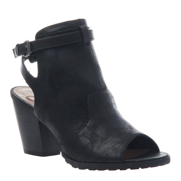 Wisteria in Black Open Toe Booties | Women's Shoes by MADELINE | WOMEN FOOTWEAR