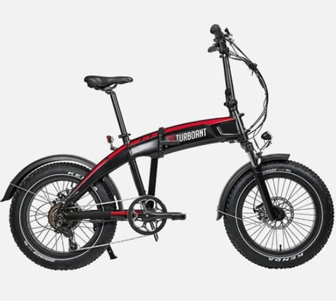 Turboant Swift S1 Fat Tire Electric Folding Bike