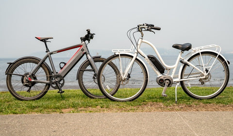 Different types of e-bikes