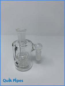 "4"" Master Glass 90 Degree Ash Catcher Wide."