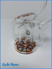 "Load image into Gallery viewer, 6"" Crystal Glass Recycler Rig."