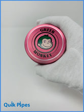 Load image into Gallery viewer, 63mm Green Monkey Dome Grinder Pink.