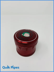 63mm Green Monkey Dome Grinder Red.