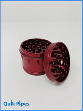 Load image into Gallery viewer, 63mm Green Monkey Dome Grinder Red.