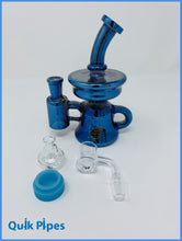Load image into Gallery viewer, 7' Crystal Glass Iridescent Recycler With Reclaimer.