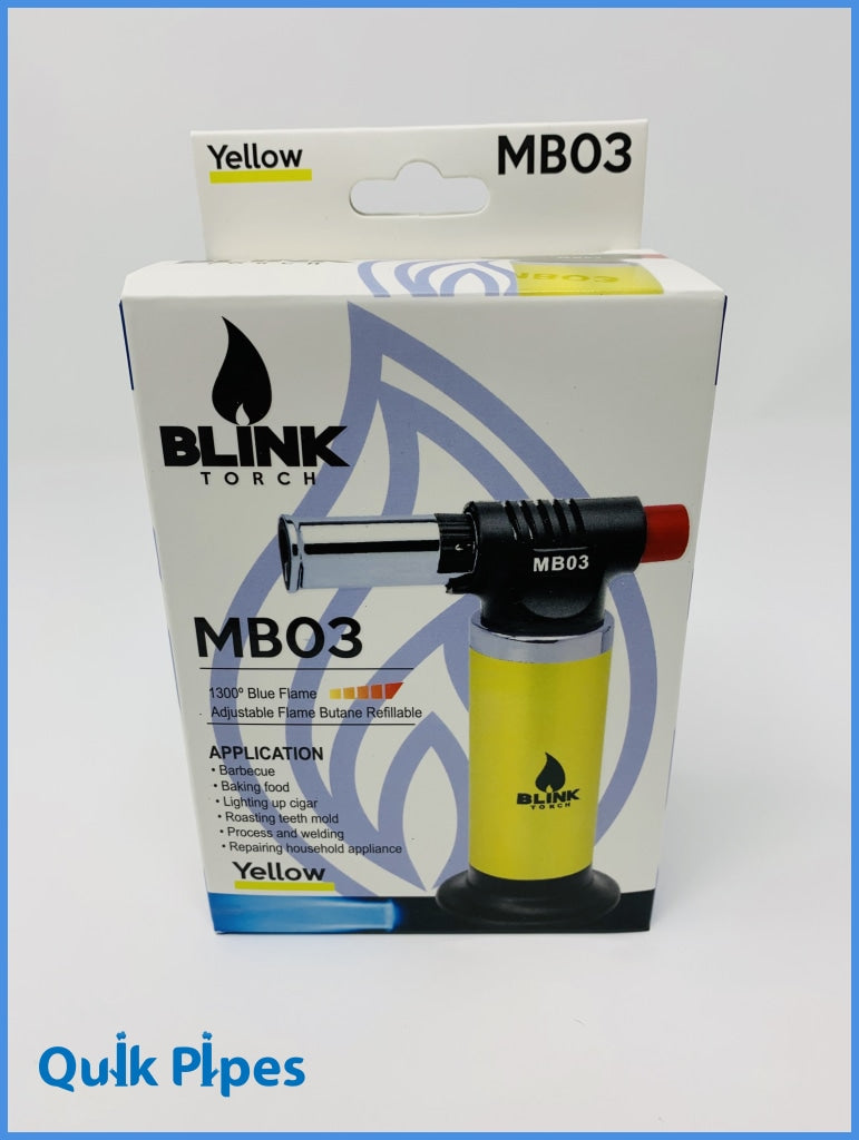 Blink MB03 Butane Torch Green.