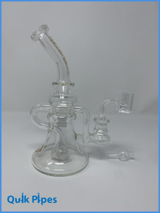Crystal Glass Elephant Foot Recycler.