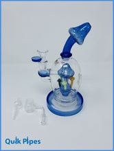 Load image into Gallery viewer, Lookah Glass Dab Rig Model: WPC723 Blue.