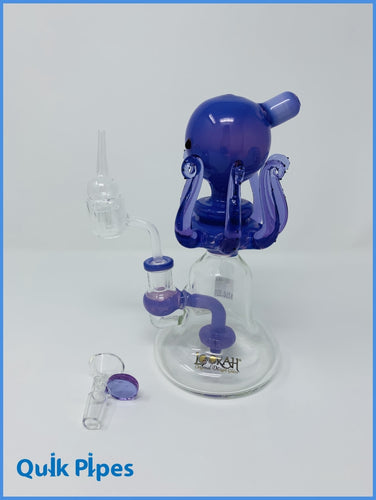 Lookah Glass Dab Rig Model: WPC731 Purple.