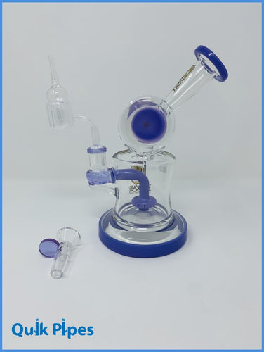 Lookah Glass Dab Rig Model: WPC735 Purple.