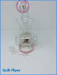 Lookah Glass Dab Rig Model: WPC915 Pink.