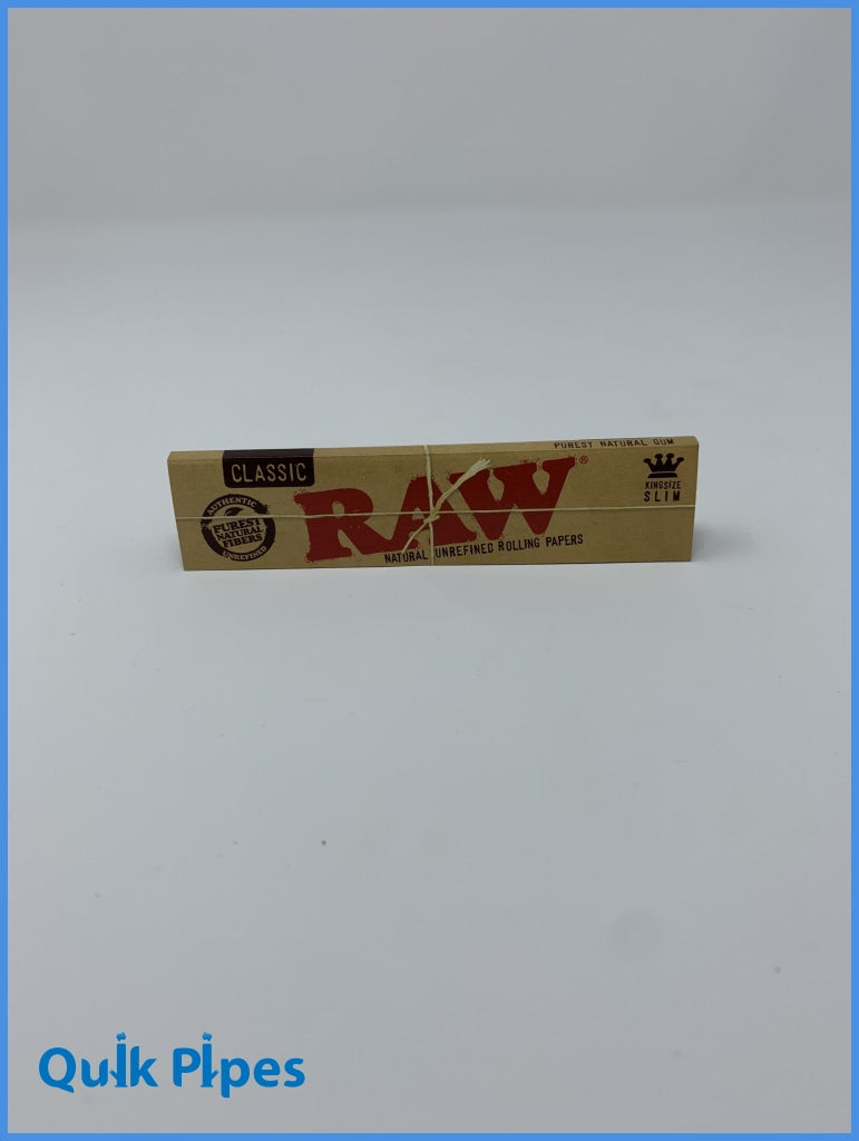 Raw King Size Slim Rolling Papers.