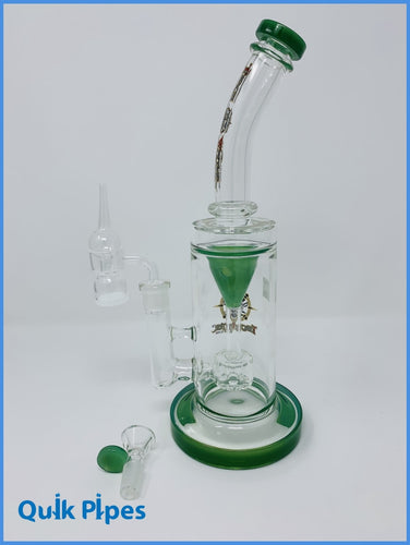 Torch Water Glass Recycler Dab Rig.