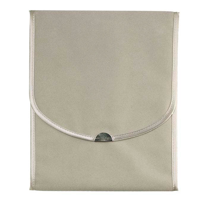 Faux suede travel pouch wallet folder for Nanihi Tahitian Pearl