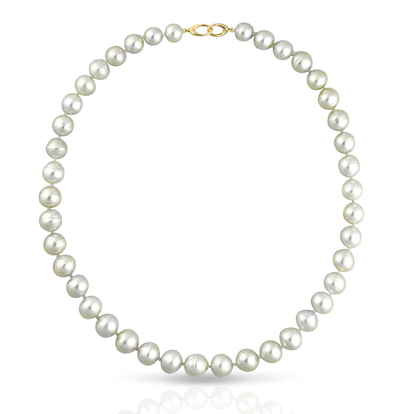 South Sea Strand Collier Necklace - CIRCLED  45cm - STNESSYGCL001 - NANIHI  TAHITIAN  PEARLS