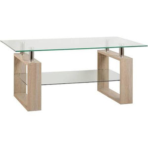 Milani Glass Coffee Table