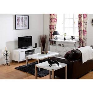 Charisma White Gloss Coffee Table