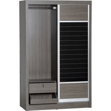 Load image into Gallery viewer, Lisbon Grey Sliding Door Wardrobe