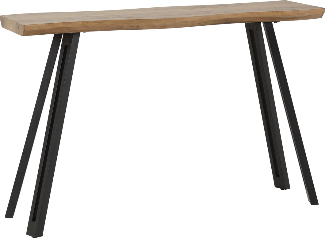 Quebec Wave Edge Console Table