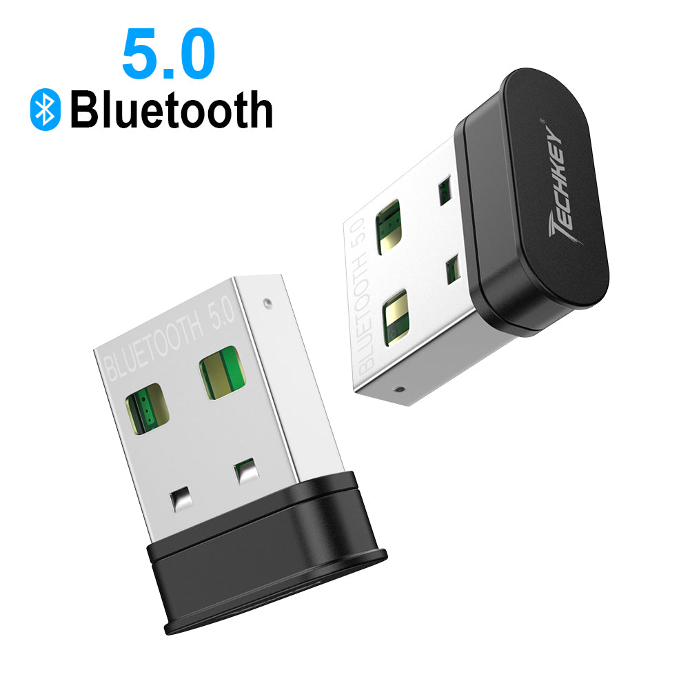 Bluetooth Adapter For Pc Techkey Usb Mini Bluetooth 5 0 Edr Dongle For Mytechkey