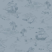 NEWBIE WALLPAPER 7451 Treasure Island