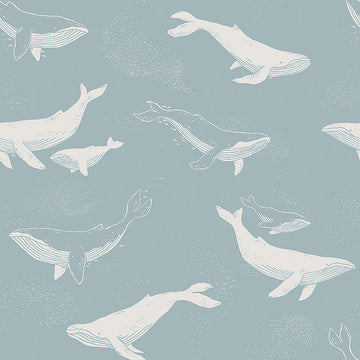 NEWBIE WALLPAPER 7453 Whales