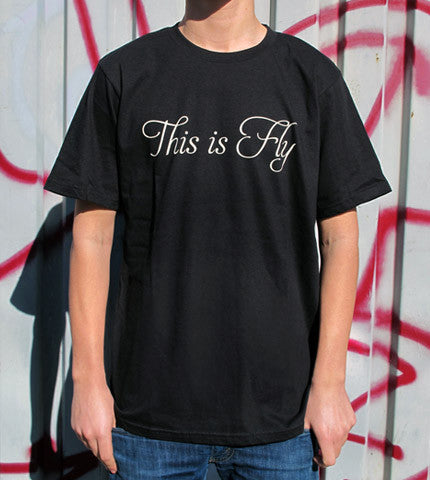 This is Fly Logo Black