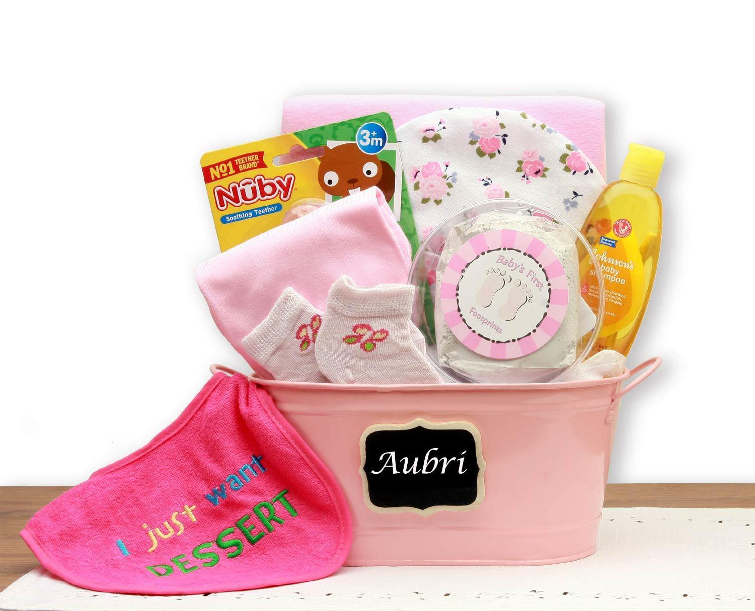 Gift Tin for the Baby Girl