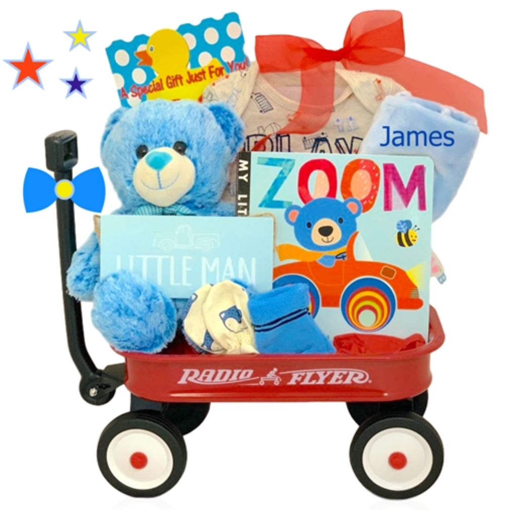 Little Man Wagon - Can be Personalized