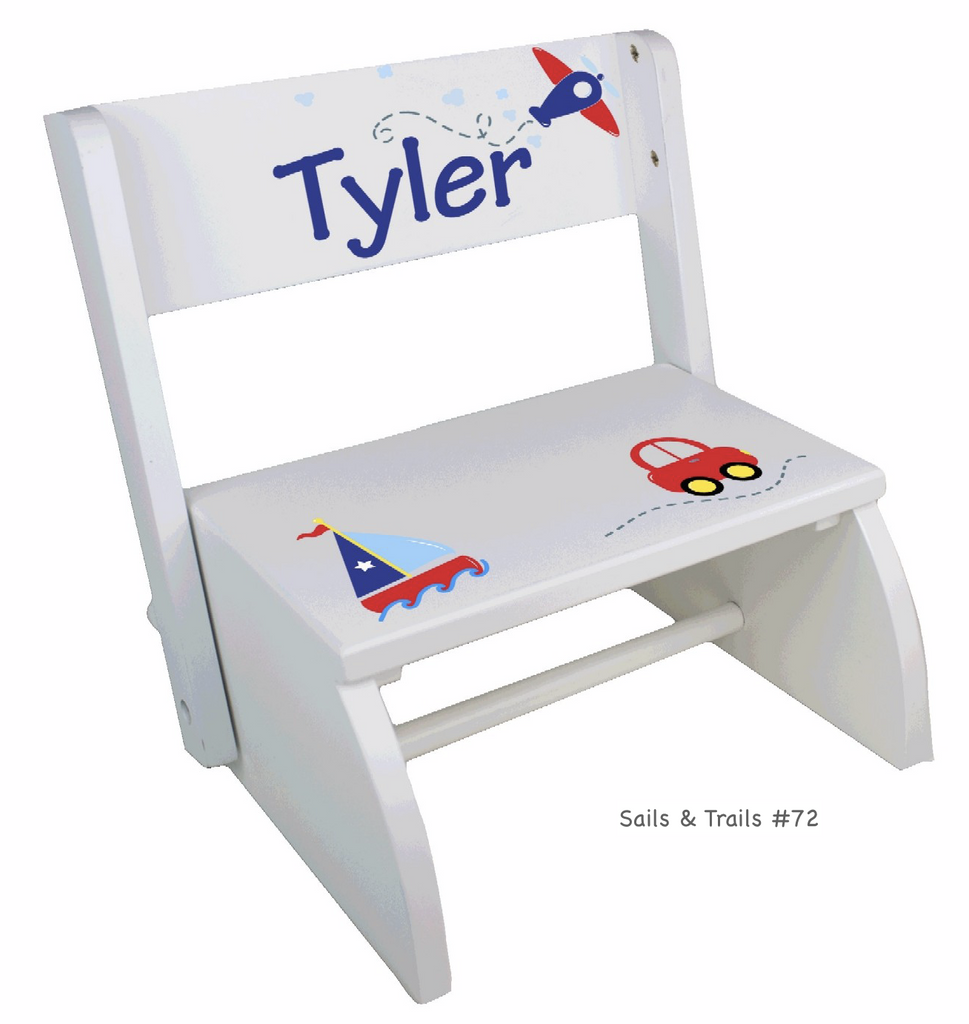 Personalized Kids Step Stools (Over 70 Cute Designs) - Simply Unique Baby Gifts
