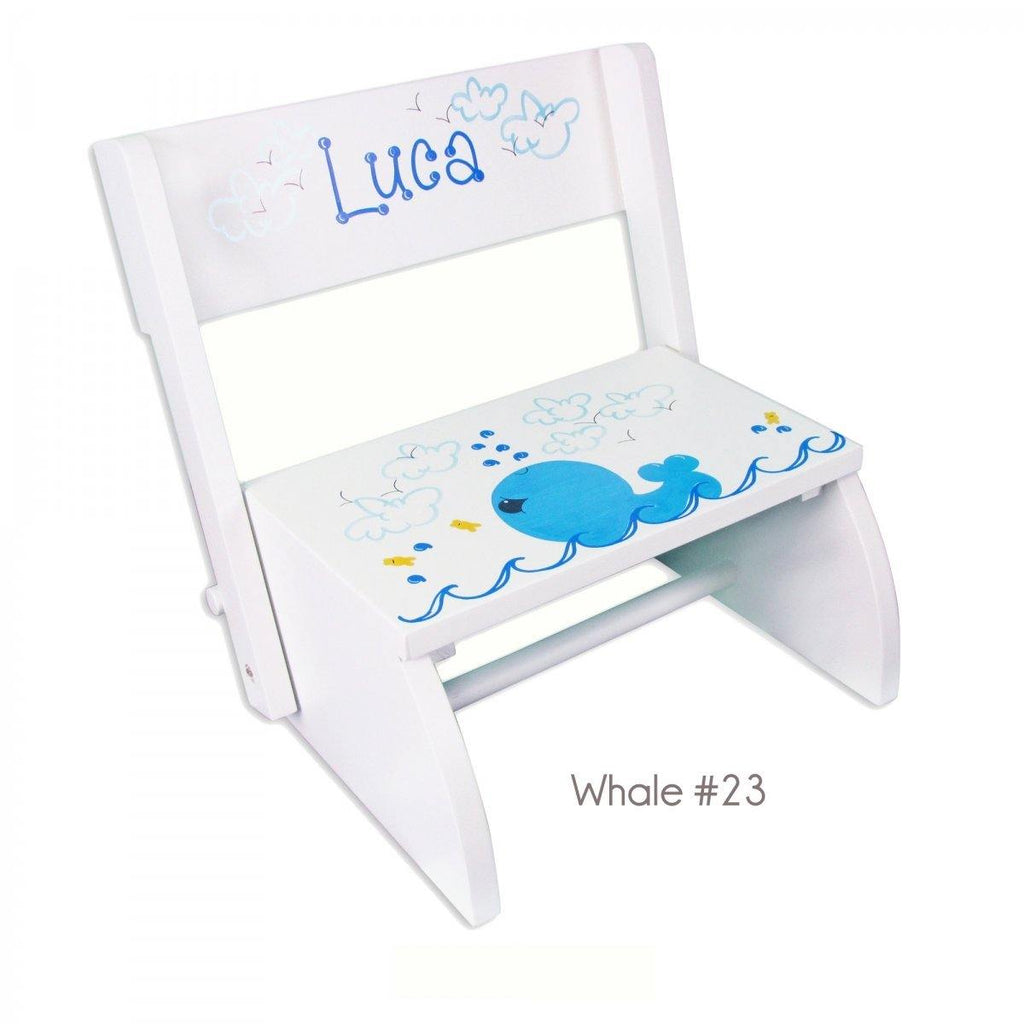 Personalized Kids Step Stools (Over 70 Cute Designs)