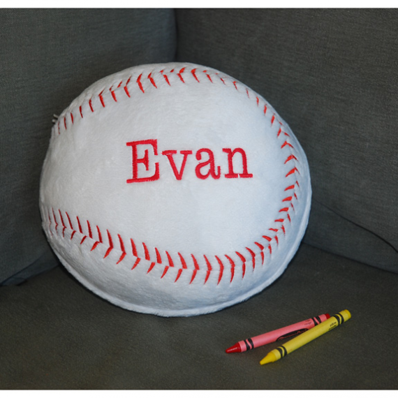 Personalized Pillow - Choice of Sport - Simply Unique Baby Gifts