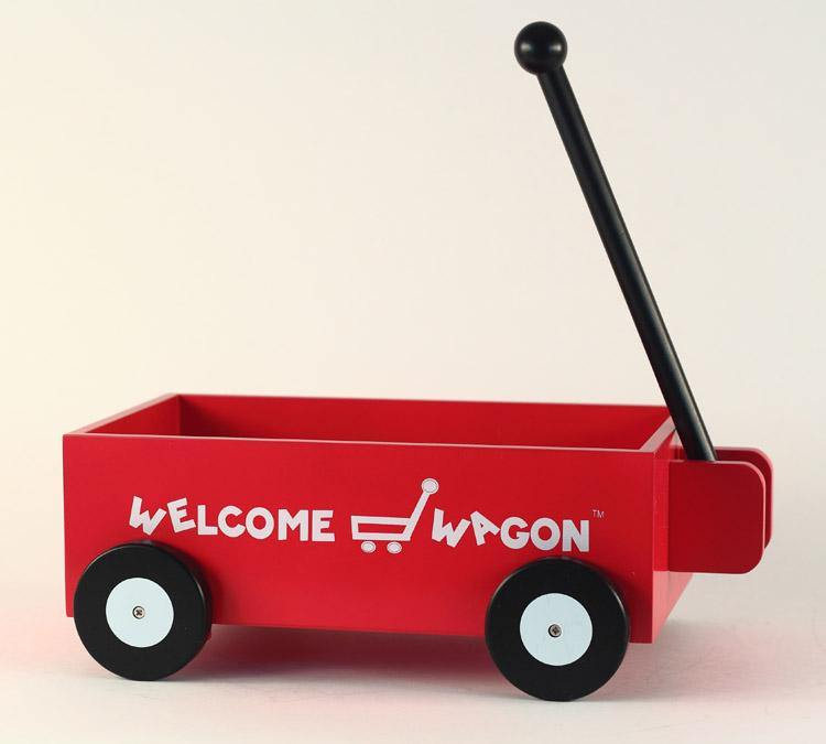 New Triplets Gift Wagon - Simply Unique Baby Gifts