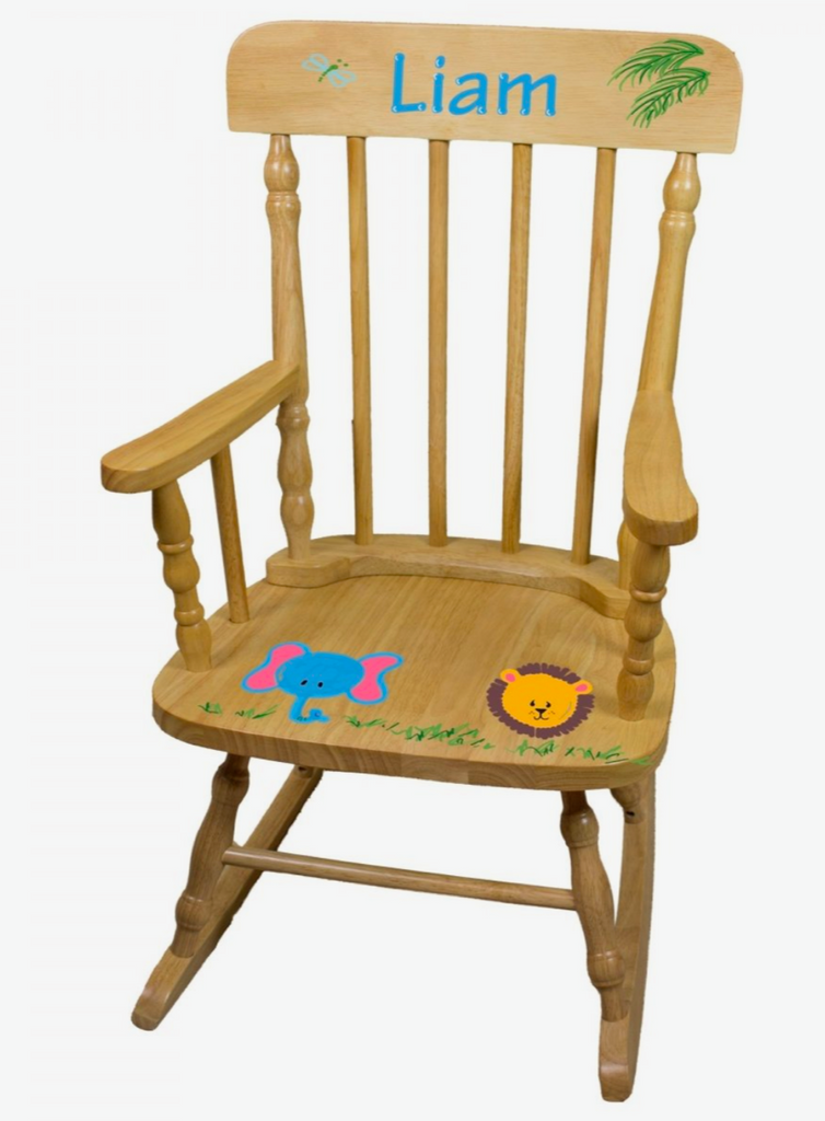 Hand Painted Custom Rocking Chair
