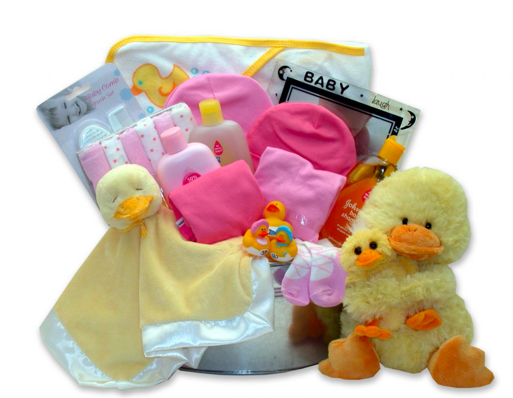 So Ducky Bath Bucket in Choice of Colors: Blue, Pink, Yellow