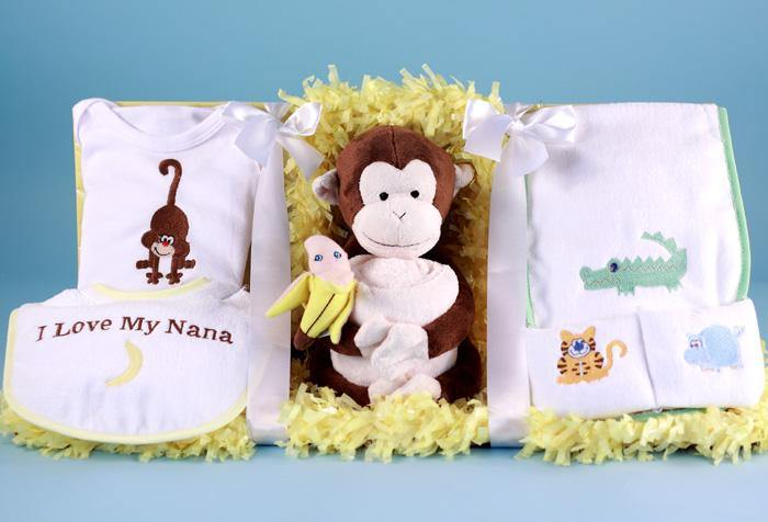 Little Monkey Gift Box