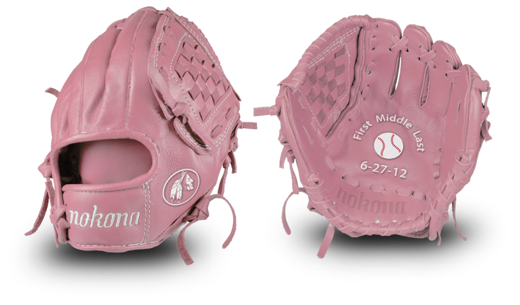 Official Nokona Personalized Baseball Glove
