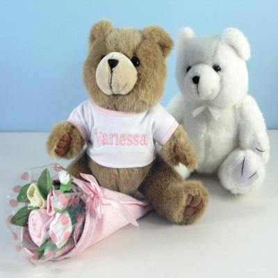 Personalized Bouquet Bear for Girls