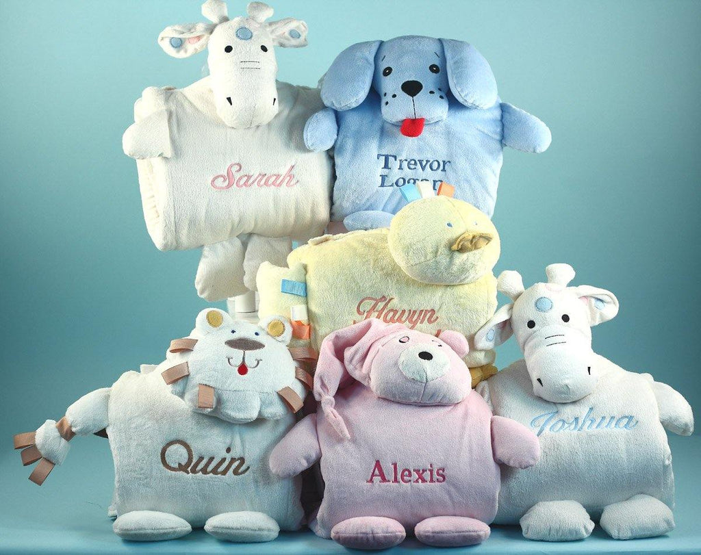 Personalized Little Critter Blankies