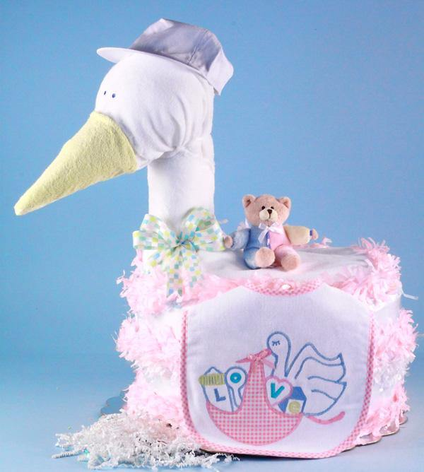 Stork Themed in Pink