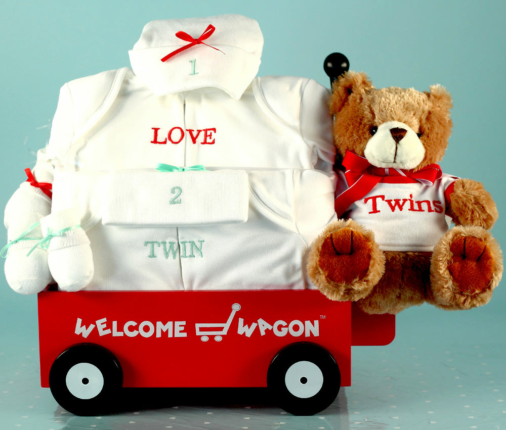 Twice as Nice Mini Wagon for Twins