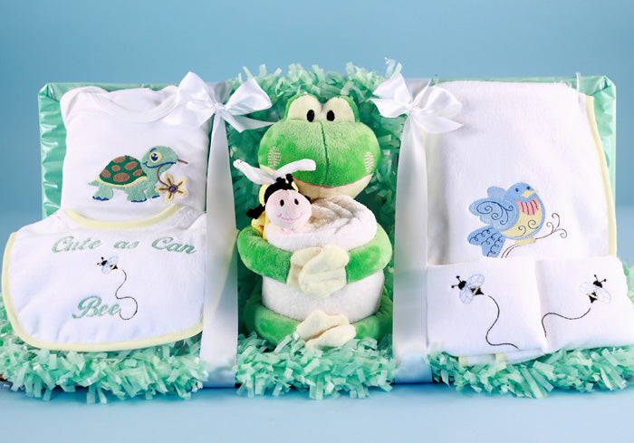 Welcome Baby - My Froggy Basket